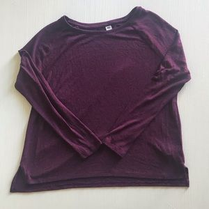 ❤️ Old Navy Crew Neck Purple Sweater | Large